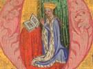 Mariánské hodinky, 1. pol. 90. let 14. stol. (z knihy Krása českých