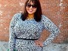 Gabi Gregg z Chicaga se proslavila fotkami v plavkách. Její módní blog najdete