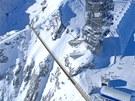 Titlis Cliff Walk je nejvýše položeným zavěšeným mostem v Evropě. Klene se nad