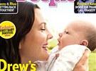 Drew Barrymore ukázala v magazínu People dceru Olive.
