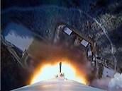 Start severokorejské rakety Unha-3 (12. prosince 2012)
