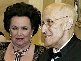 Galina Višněvská a Mstislav Rostropovič