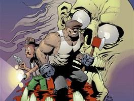 Z obálky komiksu Goon