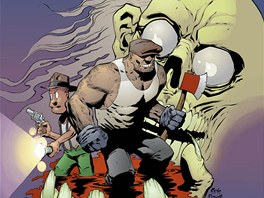 Z ob�lky komiksu Goon