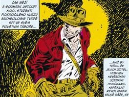 Z obálky komiksu Indiana Jones