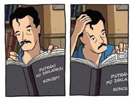 Z obálky komiksu Logikomiks
