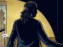 Z obálky komiksu Poslední z mužů