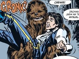 Z obálky komiksu Star Wars