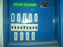Elektroinstalaci bude potřeba kompletně vyměnit.