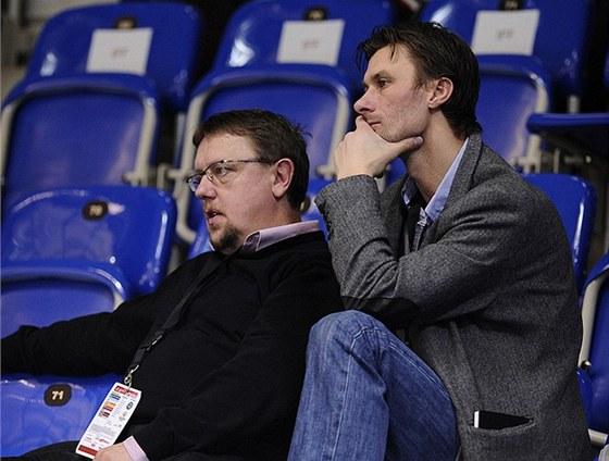 Český reprezentační tým teď vede Radim Cepek (vpravo), pomáhá mu Zdeněk Skružný.