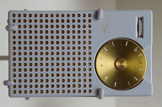 Regency TR-1, první tranzistorové rádio na světě. Vánoční hit roku 1954 za 6500