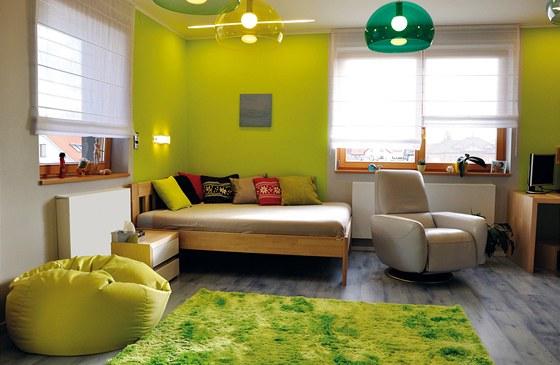 Dětské pokoje září veselými barvami