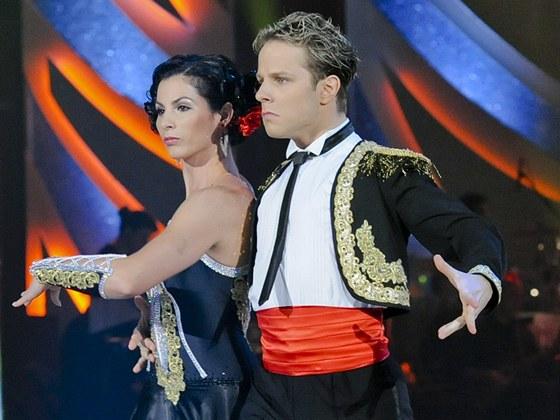 Finále StarDance V - Kateřina Baďurová a Jan Onder a jeden z finálových tanců