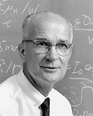 W. B. Shockley, jeden z vynálezců tranzistoru.