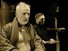 Divadlo Na zábradlí, Praha - Bertolt Brecht - Život Galileiho. Na snímku Ivan