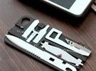 Nástroje, které v sobě ukrývá zadní hliníkový kryt, jsou vyrobeny z kalené...