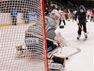 Předvánoční setkání fandů s pardubickými hokejisty