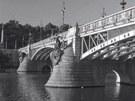 Čechův most (z knihy Praha moderní)
