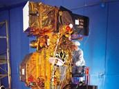 Družice Landsat-7, nad kterou kdosi převzal kontrolu v letech 2007 a 2008