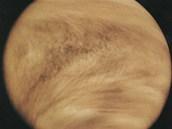 Snímek Venuše, či spíše jejich mraků v ultrafialovém spektru, jak je viděla