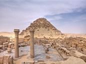 Ruiny pyramidy faraóna Sahure, ze kterých se můžeme poučit.
