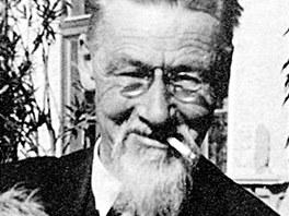 Archiktekt Jože Plečnik v roce 1933