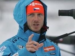 Reprezentační trenér biatlonistů Ondřej Rybář