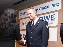 Předávání ocenění Dobrovolný hasič roku 2012.