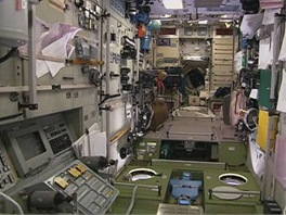 Na mezinárodní stanici ISS by se jistě nějaký intimní koutek našel, ale na