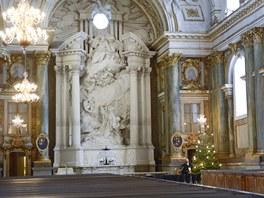 Kostel, v n�m� se 8. �ervna bude vd�vat princezna Madeleine.