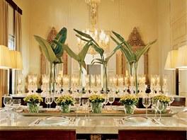 V interiérech nikdy nesmí chybět květiny, architekt Richani je považuje za