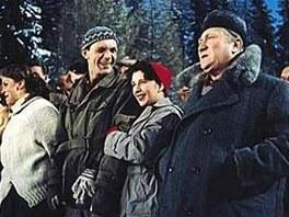 Scéna z filmu Anděl na horách