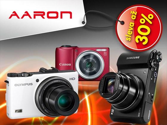 Výprodej digitálních fotoaparátů odstartoval