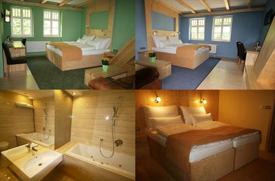 Horský hotel Sepetná - pokoje Lux