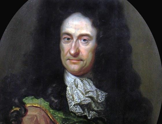 Gottfried Wilhelm von Leibniz (1646-1716), německý filosof, vědec a matematik.