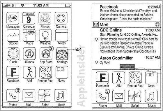 Nákresy patentu notifikačního centra