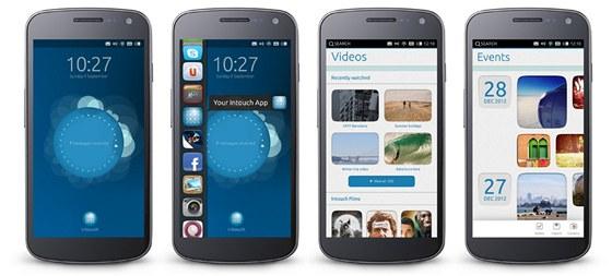 Pohled na Ubuntu Phone OS