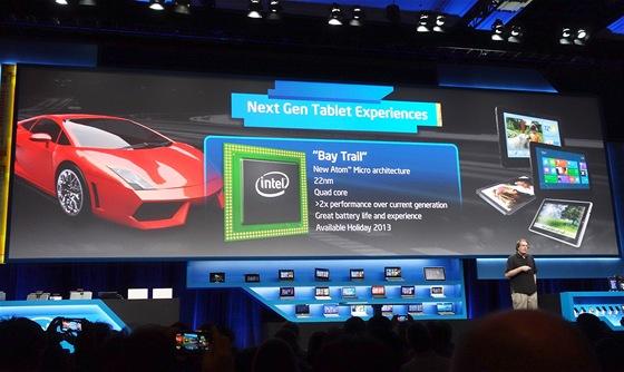 P�edstaven� nov� generace procesoru Atom na CES 2013