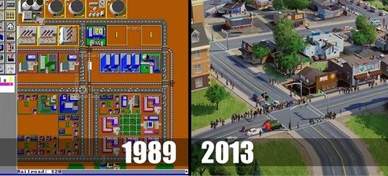 Tak jde čas se SimCity