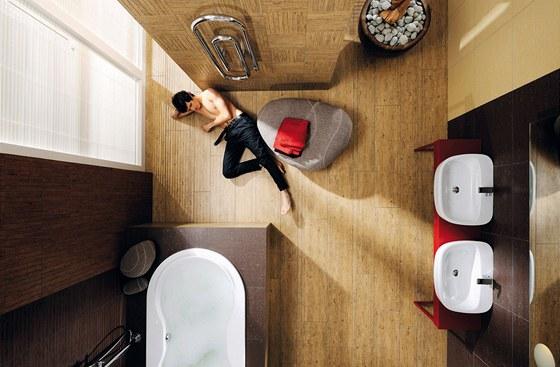 Keramická dlažba je nejužívanější krytinou pro podlahové vytápění. Její
