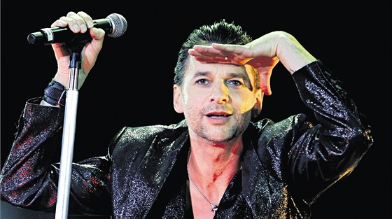 Zpěvák skupiny Depeche Mode Dave Gahan