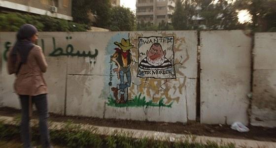 Islamistický prezident Muhammad Mursí má v Egyptě řadu odpůrců. Na snímku je