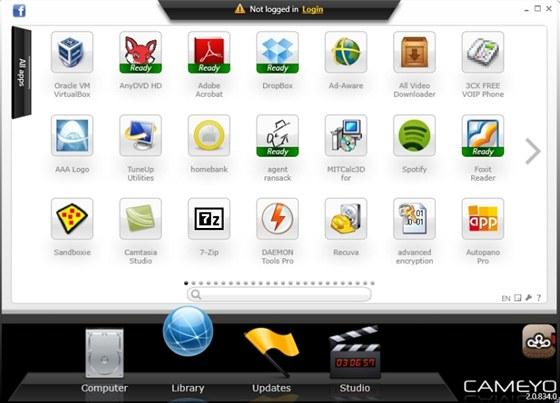Aplikace Cameyo vám umožní vyzkoušet si virtualizované verze různých programů,