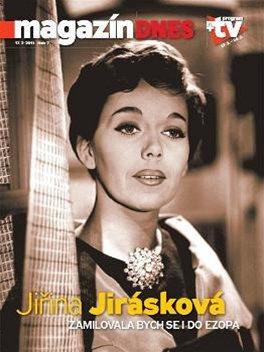 Jiřina Jirásková na titulní straně Magazínu DNES (17. února 2011)