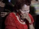 P��znivci venezuelsk�ho prezidenta Huga Ch�veze se modl� za jeho zdrav� (1.