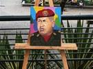 Simon Bolívar a Hugo Chávez, velikáni dějin Latinské Ameriky (1. ledna 2013)