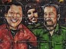 Hugo Chávez a Fidel Castro, nejlepší kamarádi (1. ledna 2013)