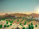 Kopie planety Země ve hře Minecraft