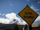 Kolem města Chaitén je hned několik sopek, jedna z nich vybuchla v roce 2008...