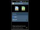 Samsung Galaxy S Duos, screenshoty systému Android 4.0.4 (ICS)
